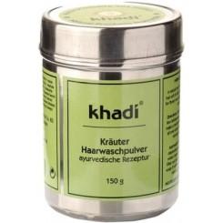 Materie per cura Capelli-Cuoio Capelluto KHADI Polvere Lavante alle Erbe