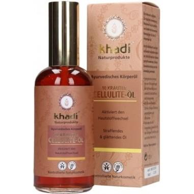 KHADI® Olio Anticellulite alle 10 Erbe