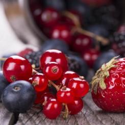Estratti Glicerici e Tinture Estratto glicerico di frutti di bosco - Vaccinium mirtillus L., Fragraria vesca L., Rubus frutic...