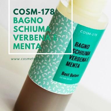 Bagno schiuma verbena e menta  – COSM-178