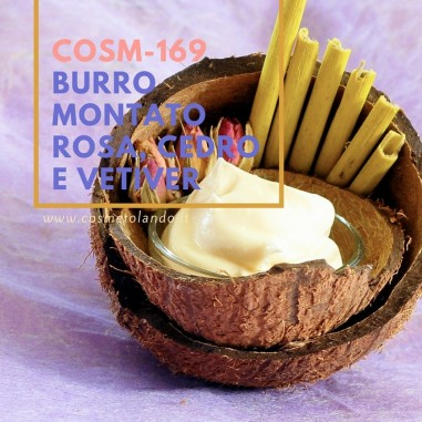 Home Burro montato rosa, cedro e vetiver – COSM-169  COSM-169