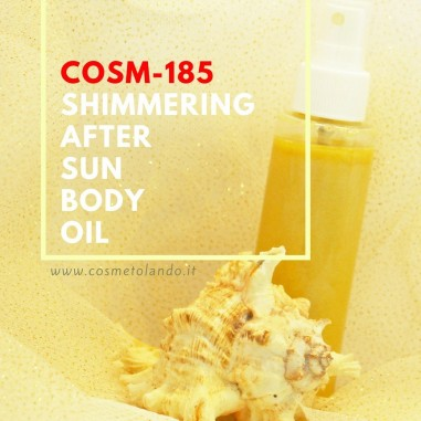 Shimmering After Sun Body Oil - COSM-185