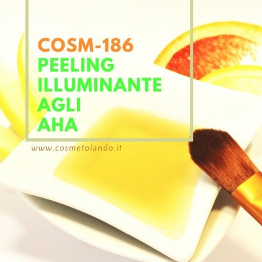 Home Peeling illuminante agli AHA – COSM-186 COSM-186