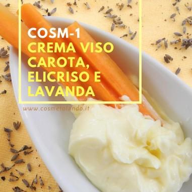 Home Crema viso carota, elicriso e lavanda - COSM-1 COSM-1