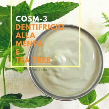 Dentifricio alla menta e tea tree – COSM-3