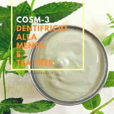 Home Dentifricio alla menta e tea tree – COSM-3 COSM-3