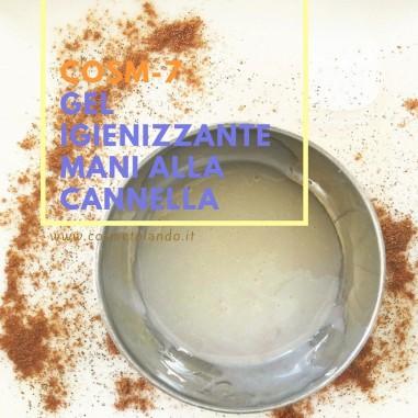 Gel igienizzante mani alla cannella – COSM-7