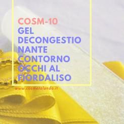 Home Gel decongestionante contorno occhi al fiordaliso – COSM-10 COSM-10