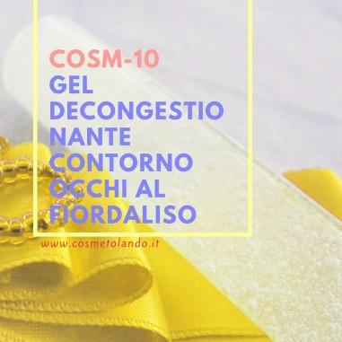 Gel decongestionante contorno occhi al fiordaliso – COSM-10