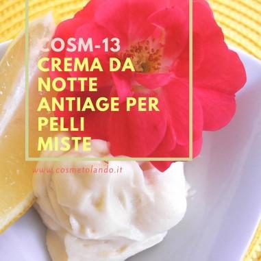 Crema da notte antiage per pelli miste - COSM-13