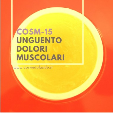 Home Unguento dolori muscolari – COSM-15 COSM-15