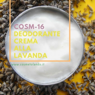 Home Deodorante crema alla lavanda – COSM-16 COSM-16