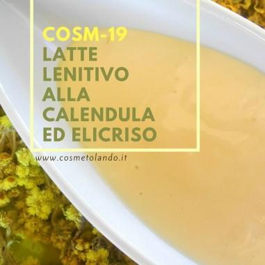 Home Latte lenitivo alla calendula ed elicriso – COSM-19 COSM-19