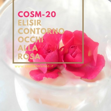 Elisir contorno occhi alla rosa – COSM-20