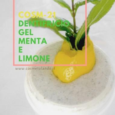Home Dentifricio gel menta e limone – COSM-21 COSM-21