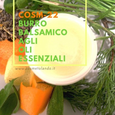 Home Burro balsamico agli oli essenziali – COSM-22 COSM-22