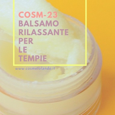 Home Balsamo rilassante per le tempie – COSM-23 COSM-23