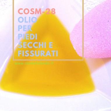 Olio per piedi secchi e fissurati - COSM-28