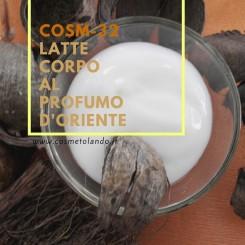 Home Latte corpo al profumo d'oriente – COSM-32 COSM-32