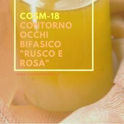 """Home Contorno occhi bifasico \\""""rusco e rosa\\"""" – COSM-18 COSM-18"""