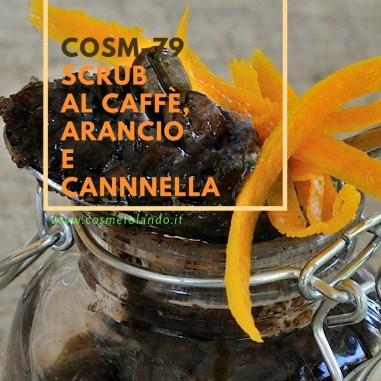 Scrub al caffè, arancio e cannnella – COSM-79