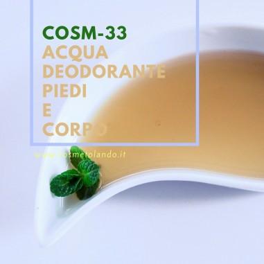 Home Acqua deodorante piedi e corpo – COSM-33 COSM-33