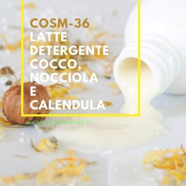 Latte detergente cocco, nocciola e calendula – COSM-36