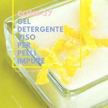 Gel detergente viso per pelli impure – COSM-37