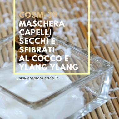 Home Maschera capelli secchi e sfibrati al cocco e ylang ylang – COSM-39 COSM-39