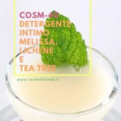 Home Detergente intimo melissa, lichene e tea tree – COSM-40 COSM-40
