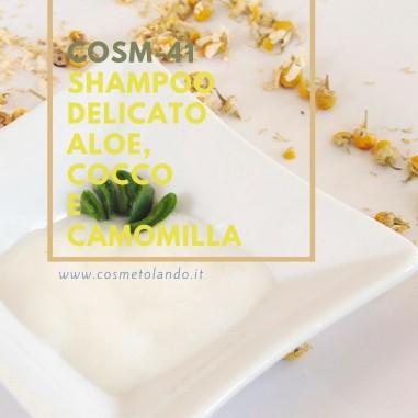 Shampoo delicato aloe, cocco e camomilla  – COSM-41