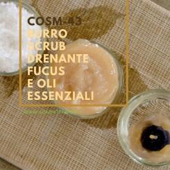 Home Burro Scrub Drenante Fucus e Oli Essenziali – COSM-43 COSM-43