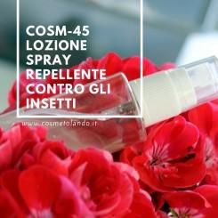 Home Lozione spray repellente contro gli insetti – COSM-45 COSM-45