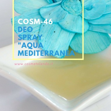 """Home Deo spray \\""""Aqua Mediterranea\\"""" – COSM-46 COSM-46"""
