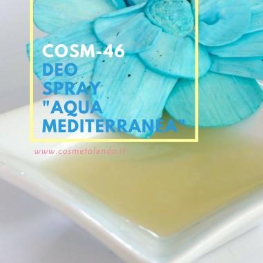 "Deo spray ""Aqua Mediterranea"" – COSM-46"
