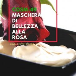 Home Maschera di bellezza alla rosa – COSM-49 COSM-49