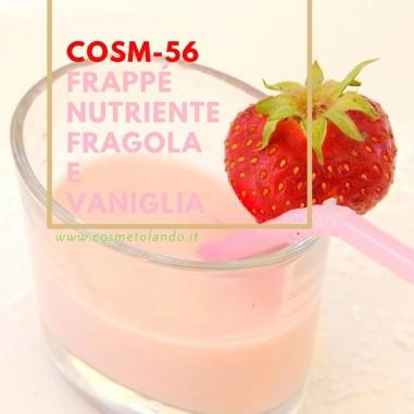 Frappé nutriente fragola e vaniglia – COSM-56