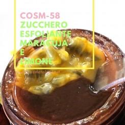Home Zucchero esfoliante maracuja e limone – COSM-58 COSM-58