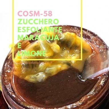 Zucchero esfoliante maracuja e limone – COSM-58