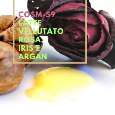 Latte vellutato rosa, iris e argan – COSM-59