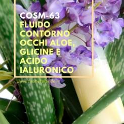 Home Fluido contorno occhi aloe, glicine e acido ialuronico – COSM-63 COSM-63