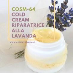 Home Cold cream riparatrice alla lavanda - COSM-64 COSM-64