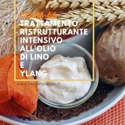Home Trattamento ristrutturante intensivo all'olio di lino e ylang – COSM-66 COSM-66
