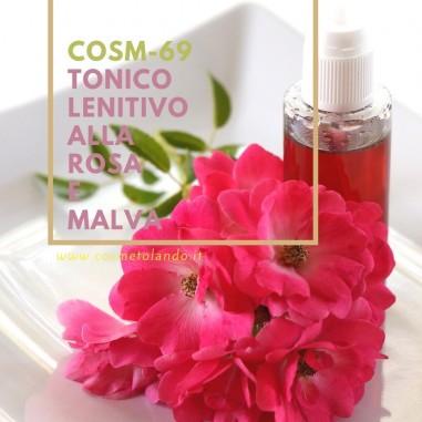 Tonico lenitivo alla rosa e malva – COSM-69