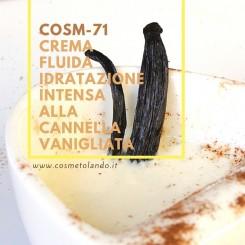 Home Crema fluida idratazione intensa alla cannella vanigliata - COSM-71 COSM-71