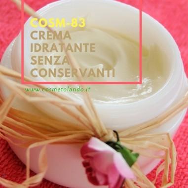 Crema idratante senza conservanti - COSM-83