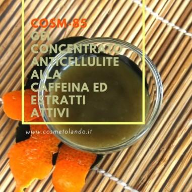 Home Gel concentrato anticellulite alla caffeina ed estratti attivi – COSM-85 COSM-85
