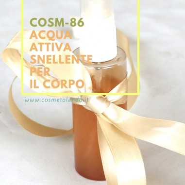 Acqua attiva snellente per il corpo – COSM-86