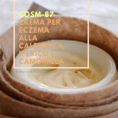 Home Crema per eczema alla calendula, iperico e camomilla – COSM-87 COSM-87