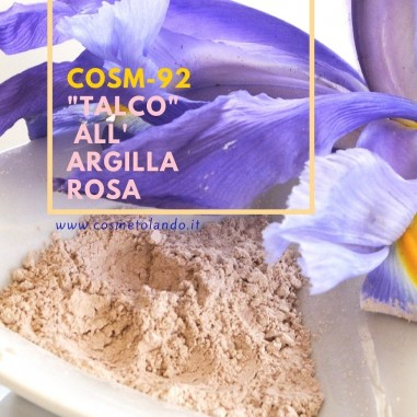 "Home \""Talco\\"" all'argilla rosa – COSM-92 COSM-92"